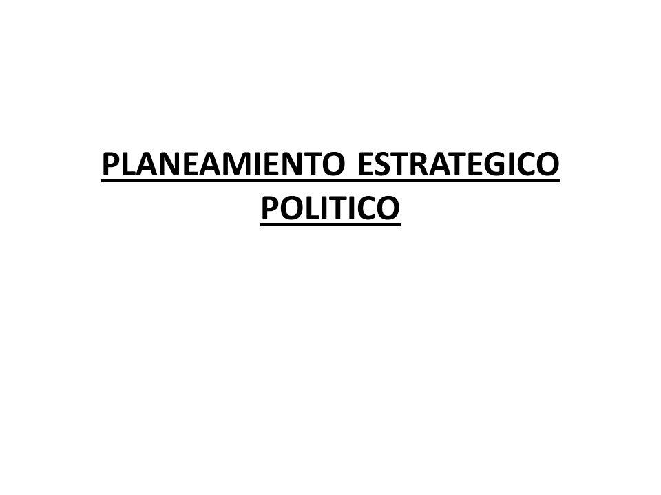 II.- ELECCION DE LA ESTRATEGIA Y FORMULACIÓN DE TAREAS ESTRATEGICAS Los pasos más importantes en la planificación de estrategias políticas son elegir las estrategias parciales para solucionar las debilidades identificadas y elegir las fortalezas para atacar las debilidades de los rivales políticos.