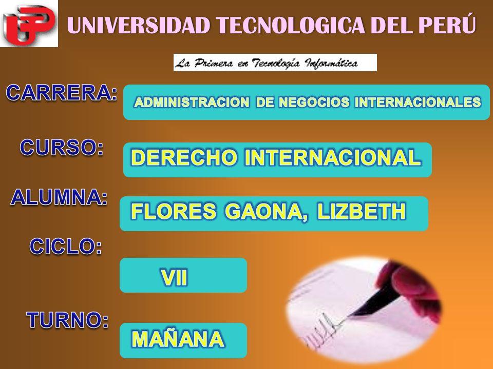 UNIVERSIDAD TECNOLOGICA DEL PERÚUNIVERSIDAD TECNOLOGICA DEL PERÚ