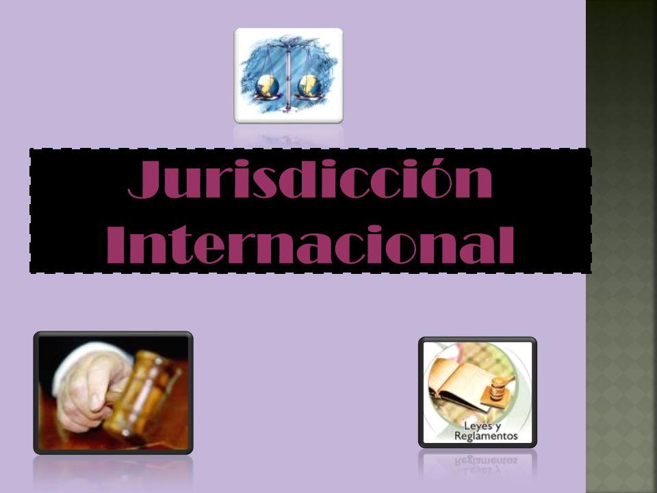 Jurisdicción Internacional