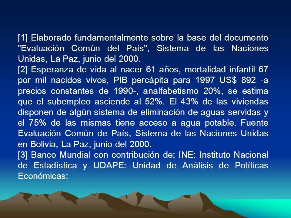 [1] Elaborado fundamentalmente sobre la base del documento