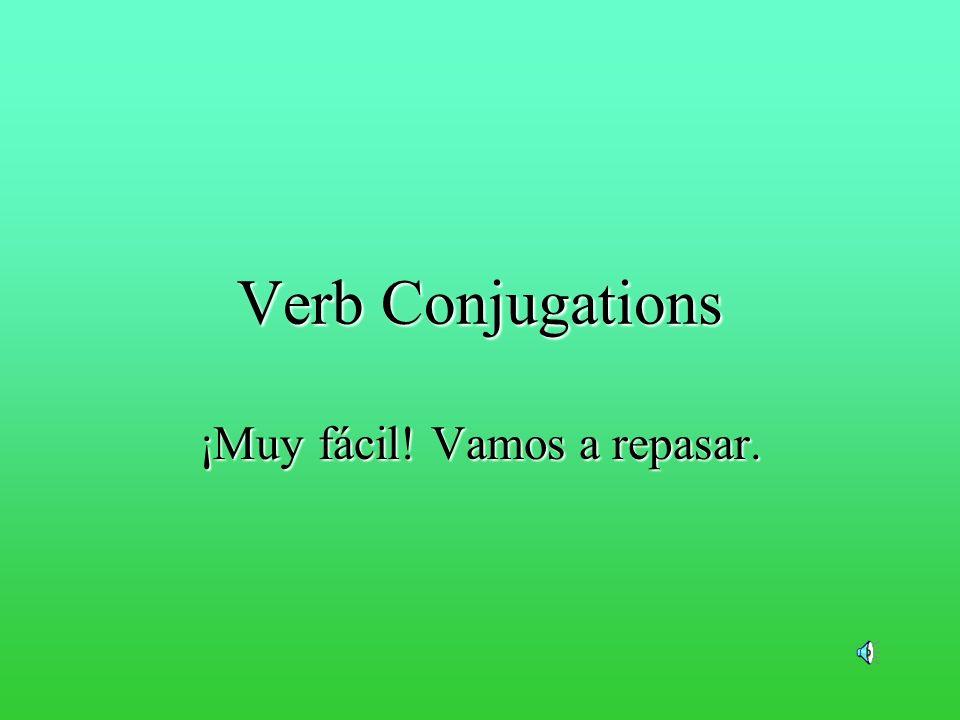 Lets try otro verbo.