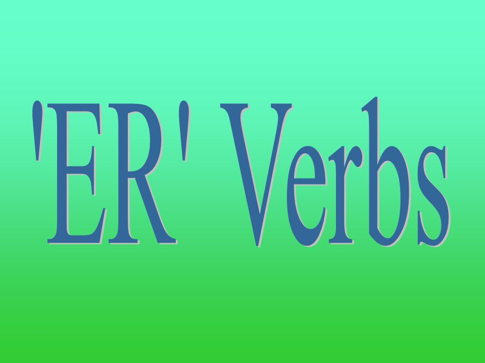 Lets practice! In your notes, conjugate the following verbs: Nadar Ayudar Cocinar Tomar Enseñar Pasar You must write verb charts with pronouns for eac