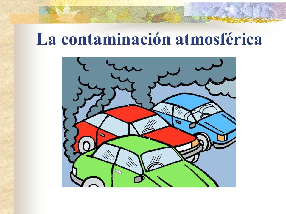 La contaminación industrial