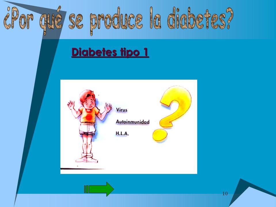 10 Diabetes tipo 1