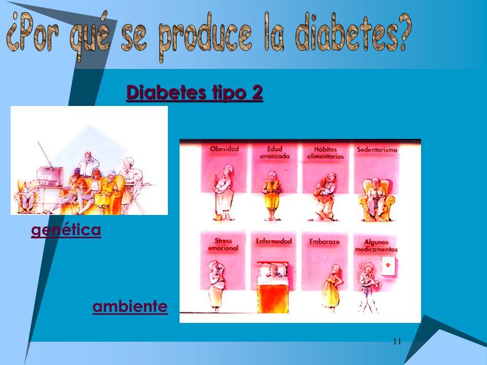 11 Diabetes tipo 2 genética ambiente
