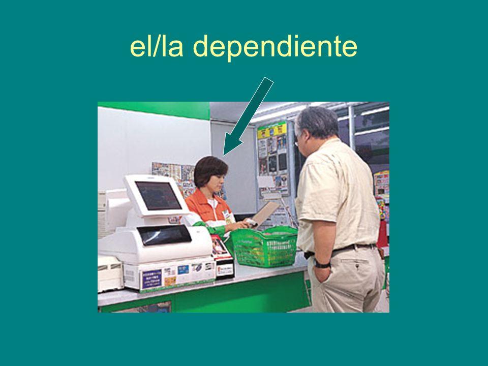 el/la dependiente
