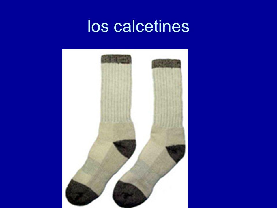 los calcetines