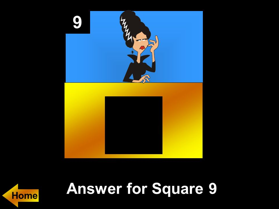 9 Answer for Square 9