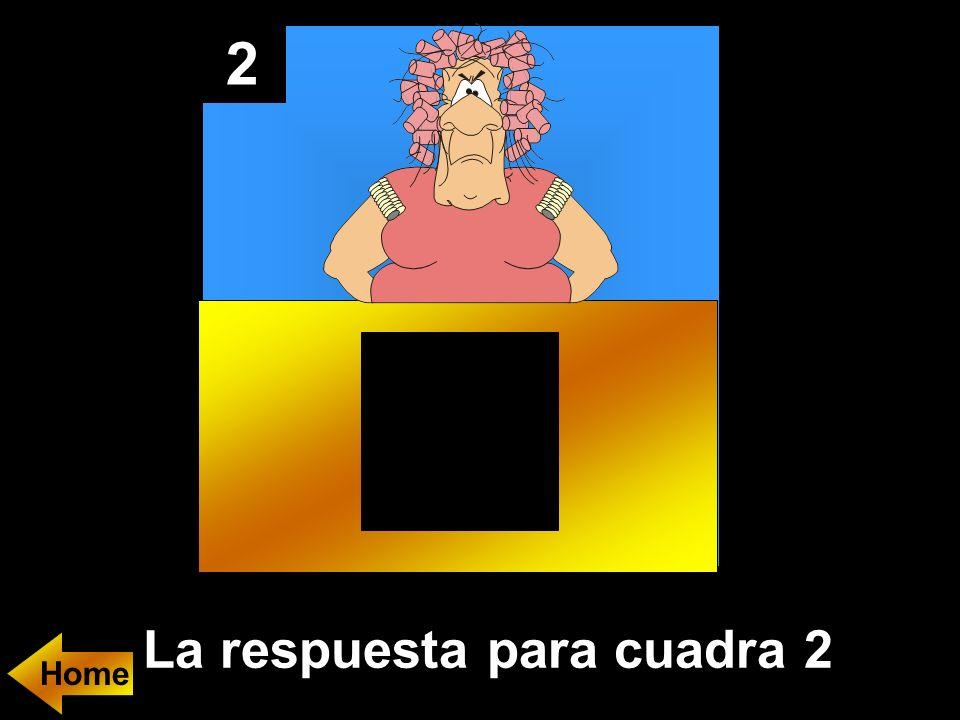2 La respuesta para cuadra 2