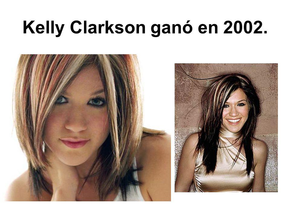 Kelly Clarkson ganó en 2002.