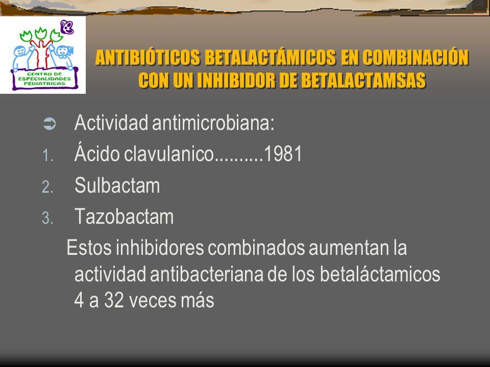 FARMACOCINETICA Vía Parenterales: 1. Intramuscular 2. Intravenosa 3. Unión a proteínas desde el 17% hasta 95% 4. Penetran en la mayoría de los tejidos