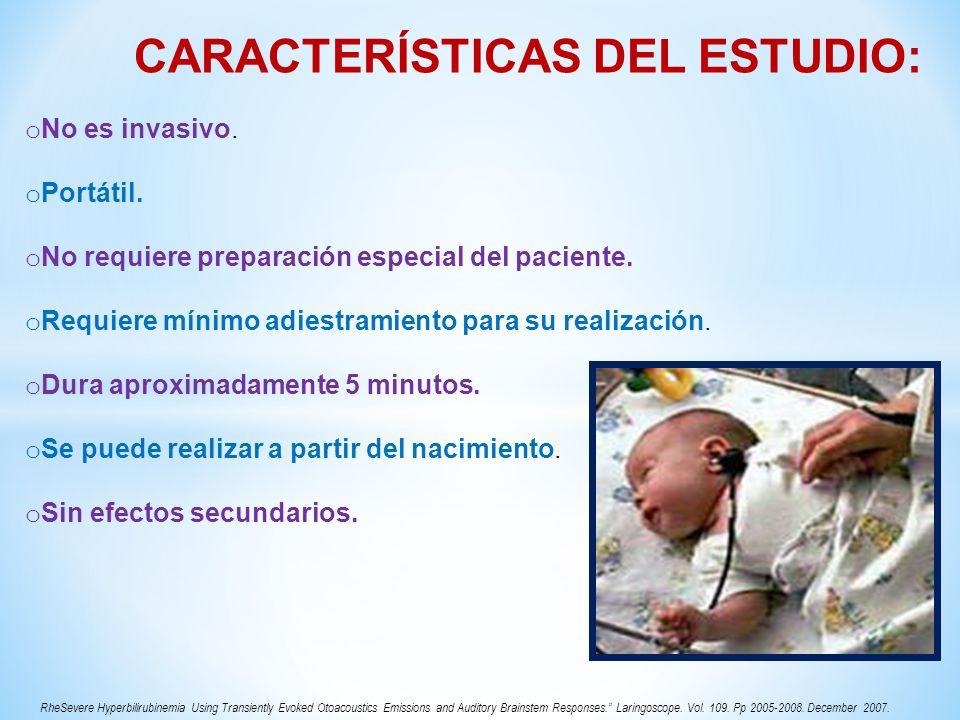 ALTERACIÓN EN CÉLULAS PILOSAS EXT.FALSOS POSITIVOSFALSOS NEGATIVOS Patología de oído medio.