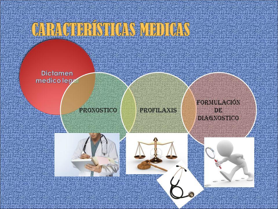 Pronosticoprofilaxis Formulación de diagnostico