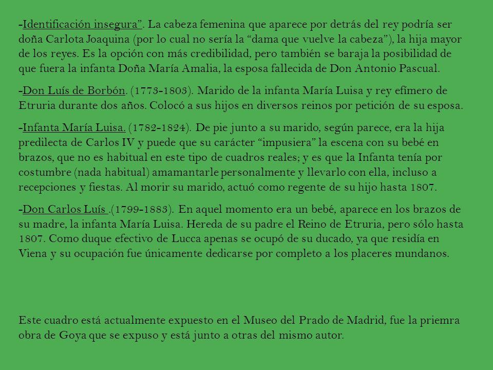FRANCISCO DE GOYA Francisco de Goya nació en Zaragoza en 1746 y murió en Burdeos, Francia en 1828.