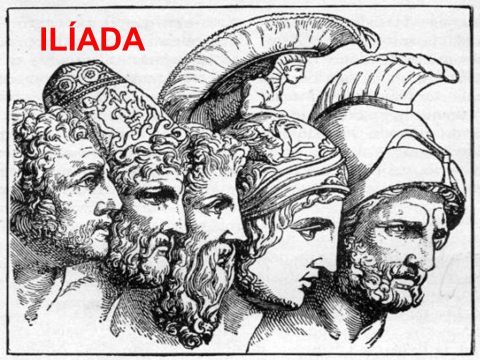 Índice Bandos -Griego -Troyano Personajes de la Ilíada Dioses de cada bando