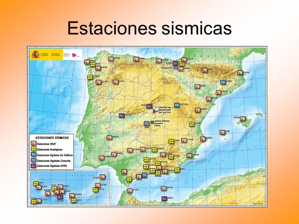 Estaciones sismicas