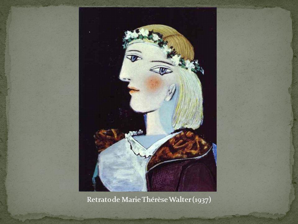 Retrato de Marie Thérèse Walter (1937)