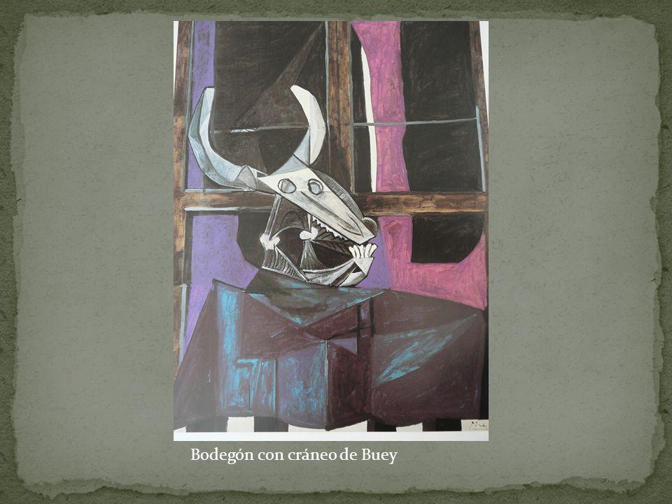 Bodegón con cráneo de Buey