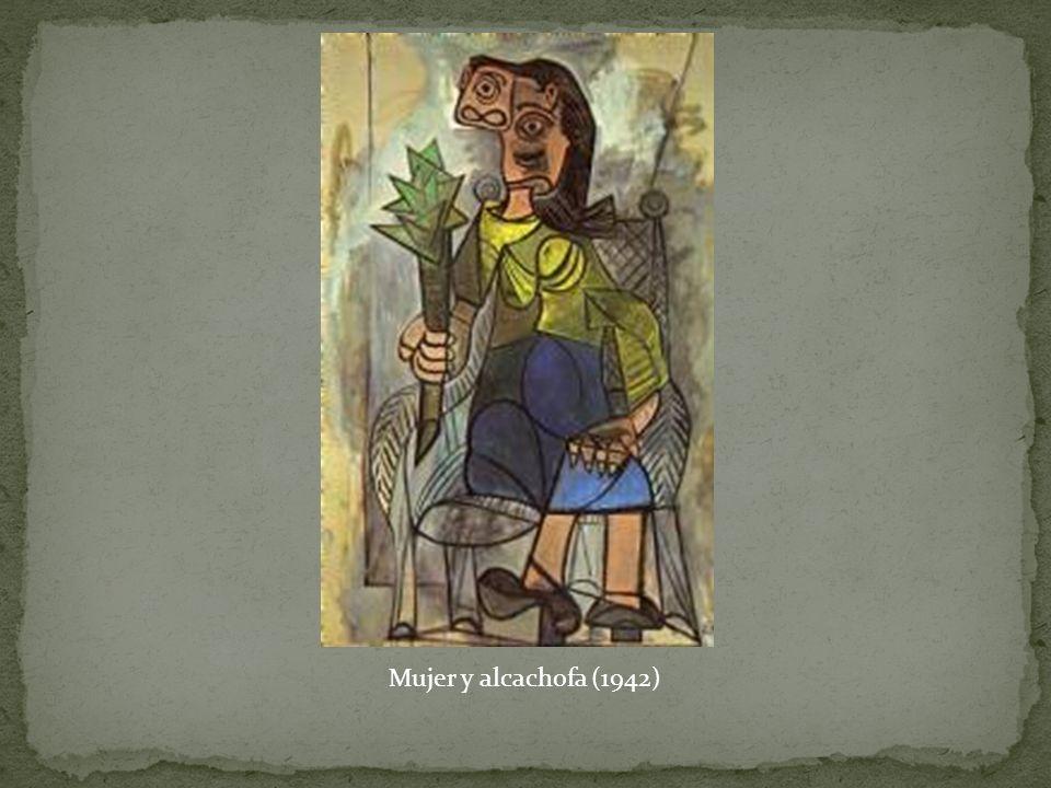 Mujer y alcachofa (1942)