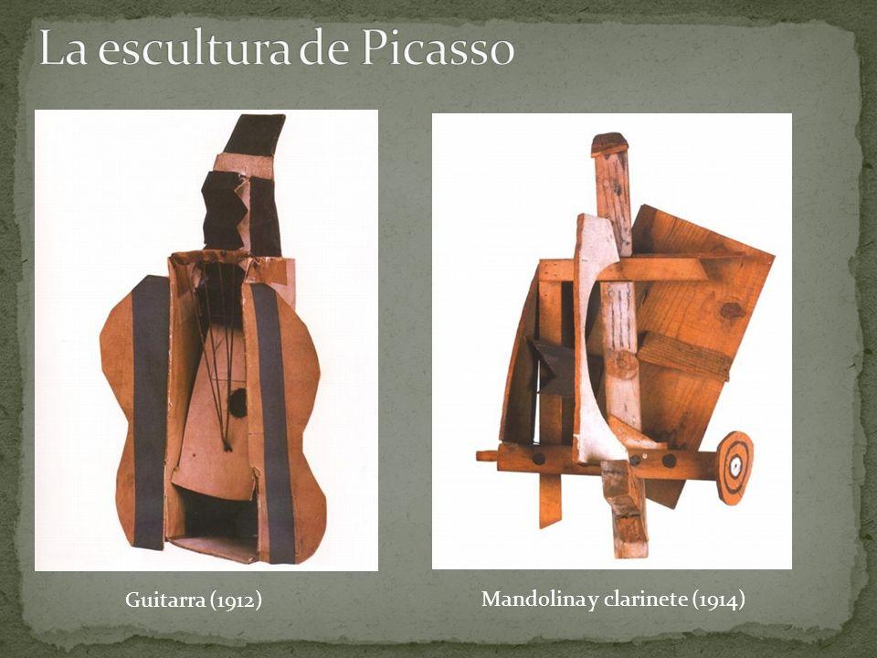 Guitarra (1912) Mandolina y clarinete (1914)
