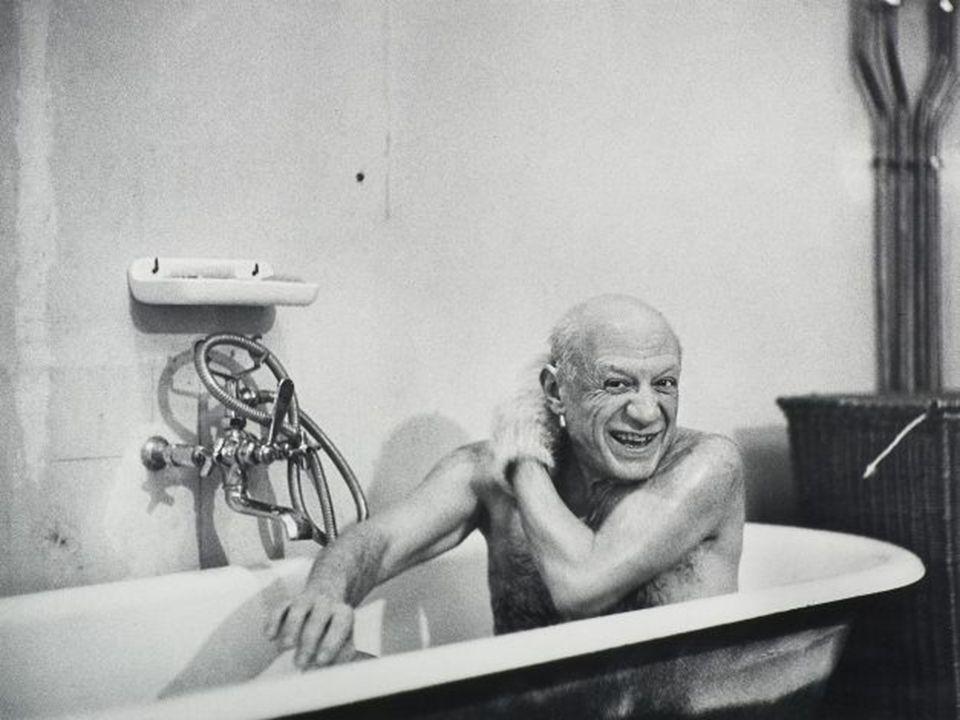 En 1953 Françoise deja a Picasso.