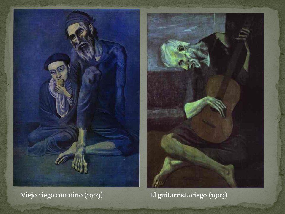 Viejo ciego con niño (1903)El guitarrista ciego (1903)