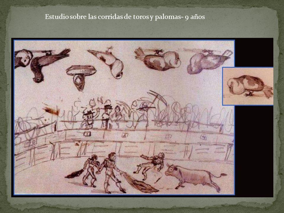 Evocación- Entierro de Casagemas (1901) Influencia del Greco: división de lo terrenal y lo divino.