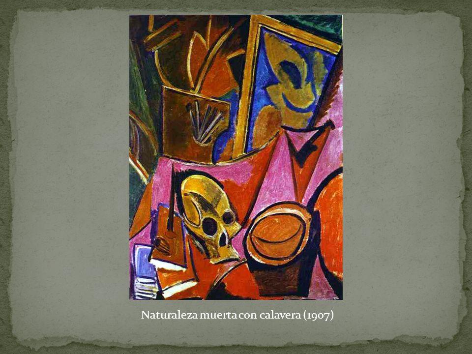 Naturaleza muerta con calavera (1907)