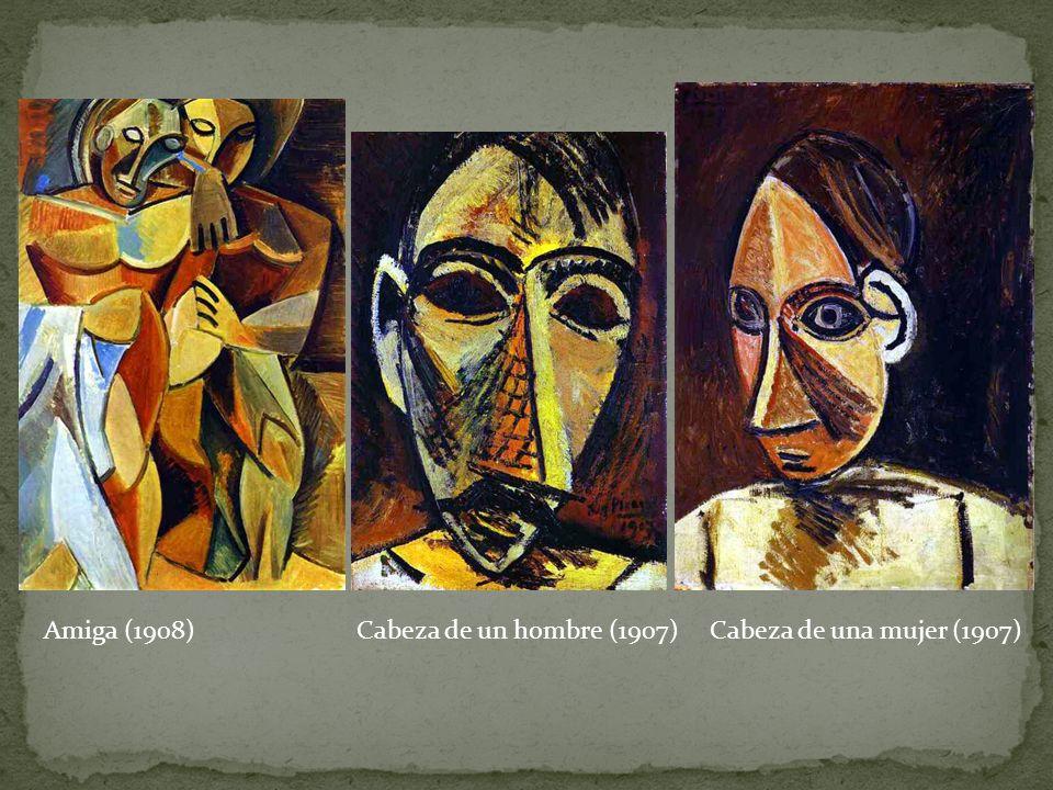 Amiga (1908)Cabeza de un hombre (1907)Cabeza de una mujer (1907)
