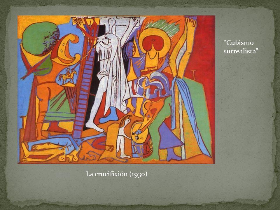La crucifixión (1930) Cubismo surrealista