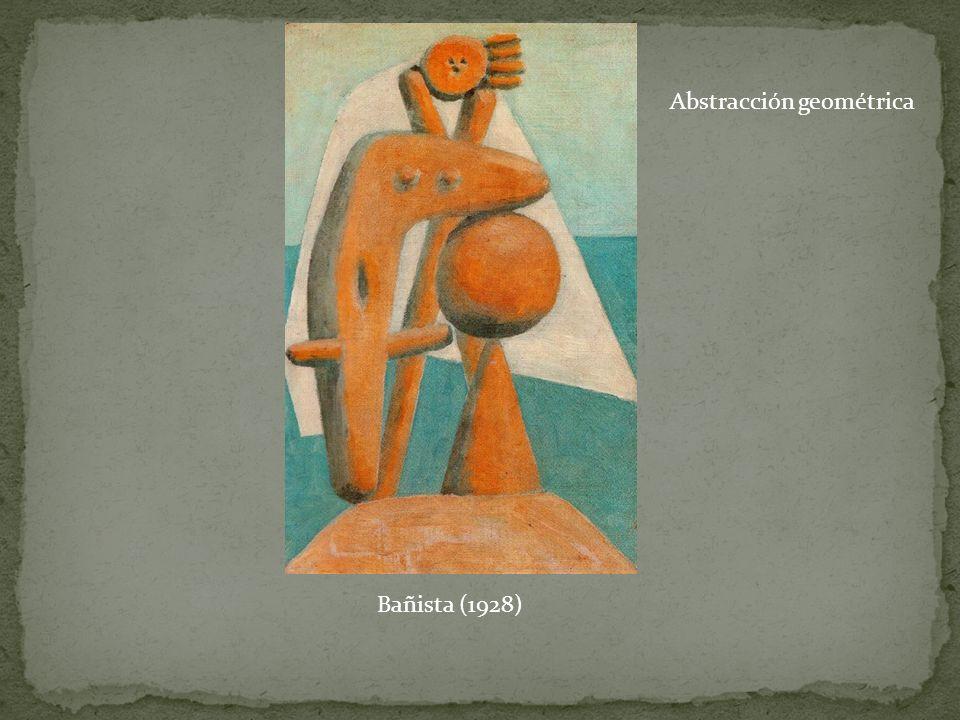 Bañista (1928) Abstracción geométrica