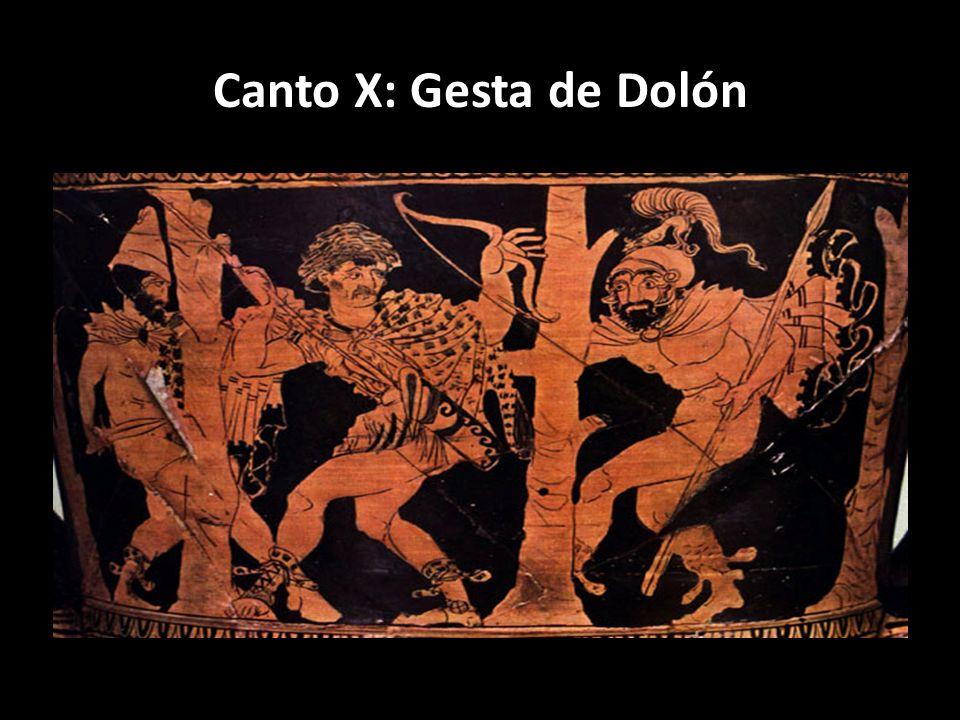 Canto X: Gesta de Dolón