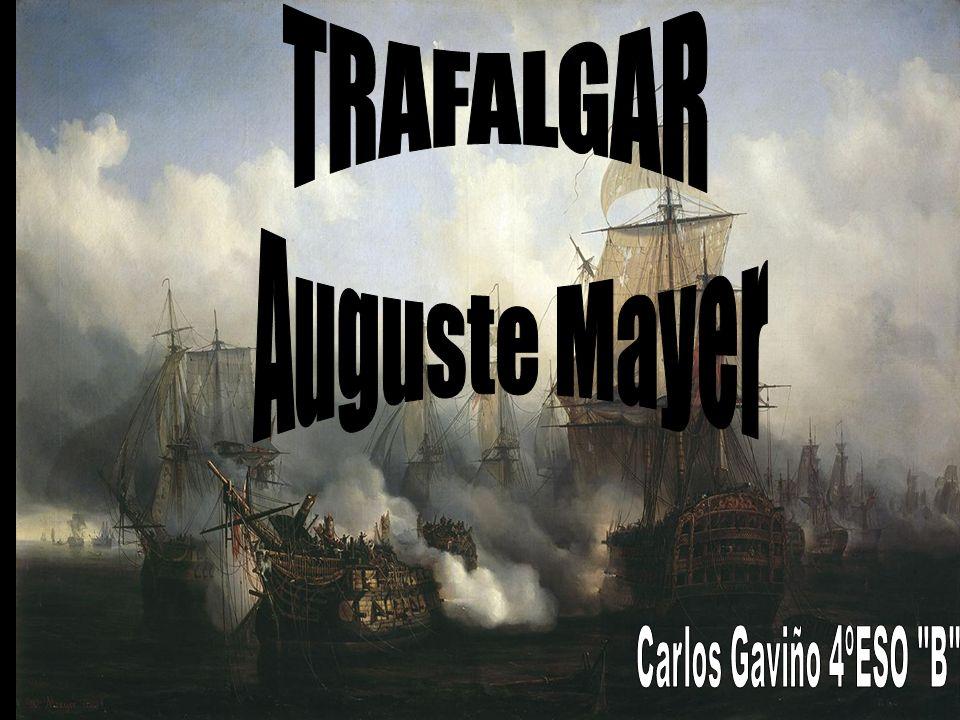 La Batalla de Trafalgar La batalla de Trafalgar tuvo lugar el 21 de Octubre de 1805, en el marco de la tercera coalición iniciada por Reino Unido, Austria, Prusia, Nápoles y Suecia para intentar derrotar a Napoleón Bonaparte del trono imperial y disolver la influencia militar francesa existente en Europa.