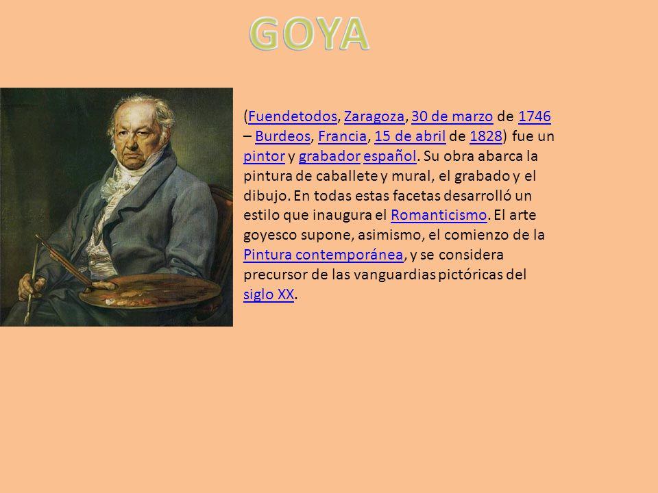 (Fuendetodos, Zaragoza, 30 de marzo de 1746 – Burdeos, Francia, 15 de abril de 1828) fue un pintor y grabador español. Su obra abarca la pintura de ca