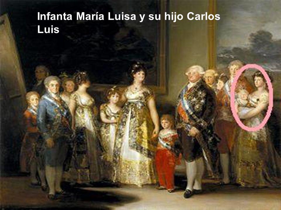 Infanta María Luisa y su hijo Carlos Luis