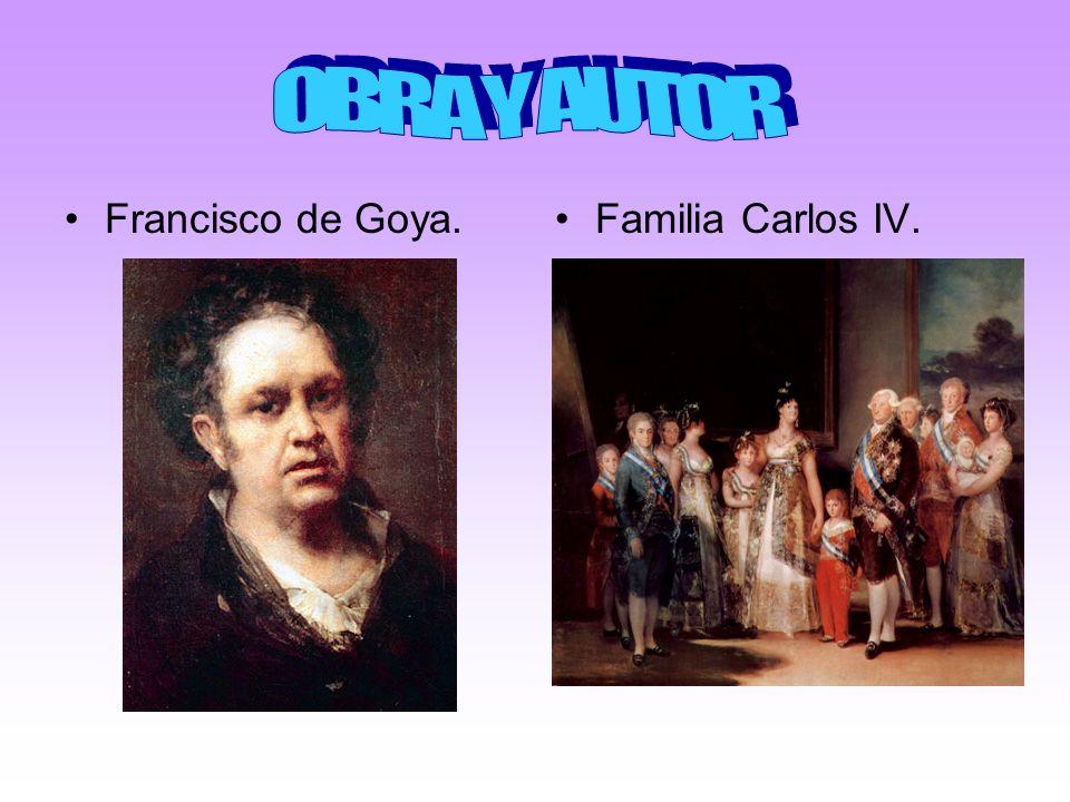 Francisco de Goya.Familia Carlos IV.