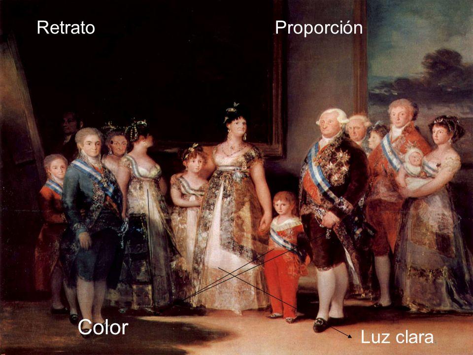 Luz clara. RetratoProporción Color