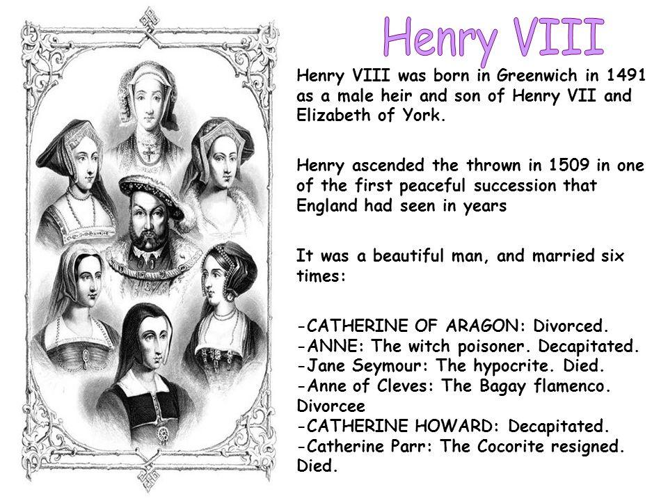 Enrique VIII heredó el reinado de Inglaterra a los 18 años, para abandonarlo al morir, cuando todavía no había cumplido los 56.