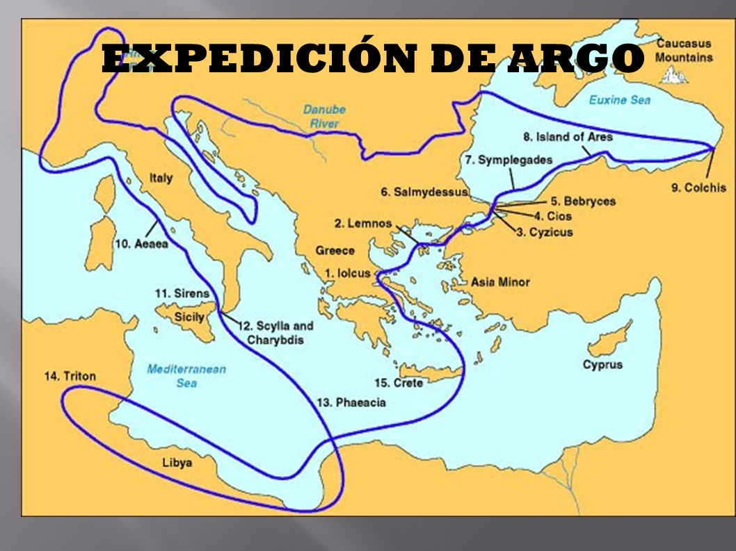 EXPEDICIÓN DE ARGO