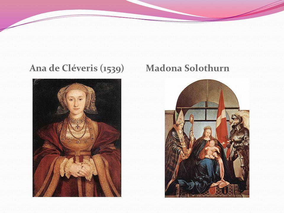 Ana de Cléveris (1539) Madona Solothurn