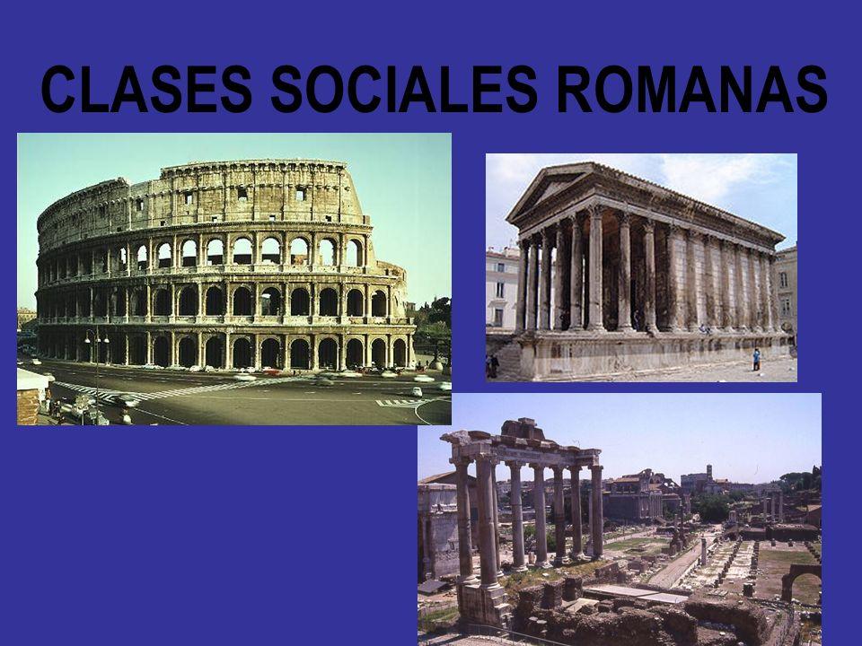 CLASES SOCIALES ROMANAS
