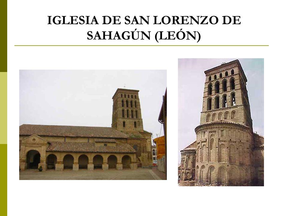IGLESIA DE SAN LORENZO DE SAHAGÚN (LEÓN)
