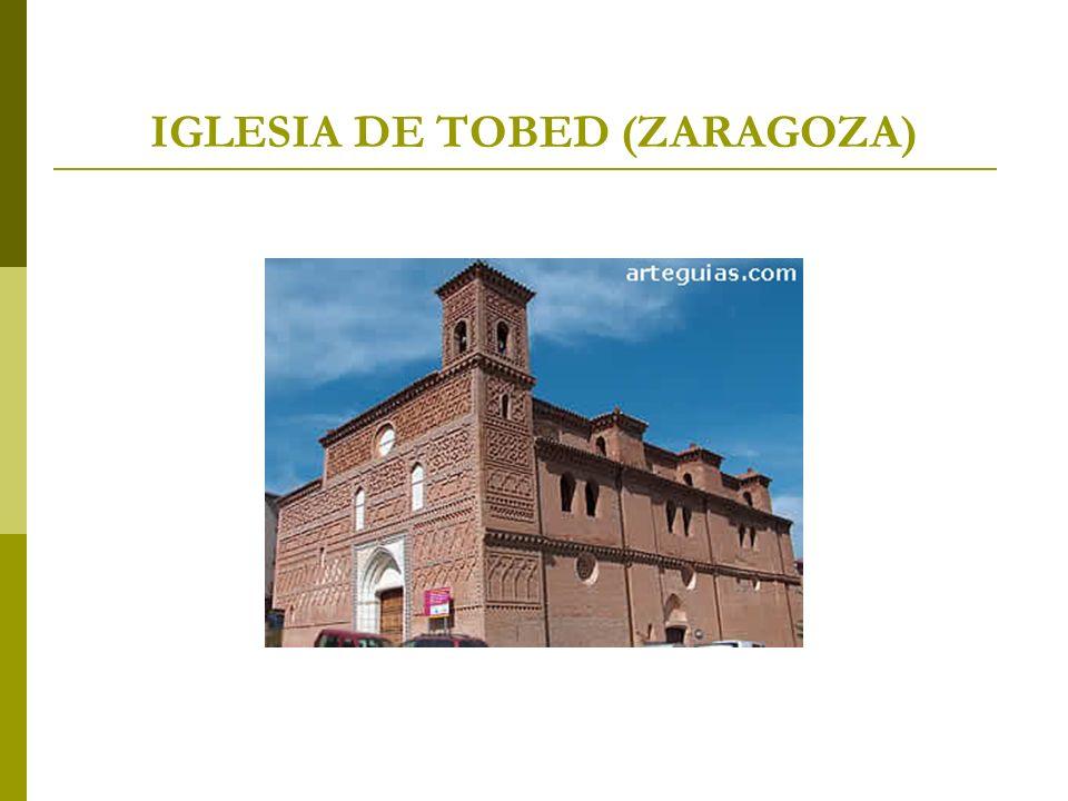 IGLESIA DE TOBED (ZARAGOZA)