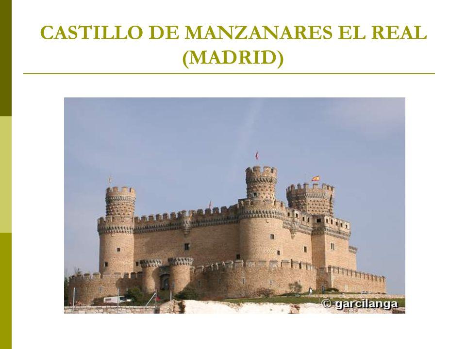 CASTILLO DE MANZANARES EL REAL (MADRID)