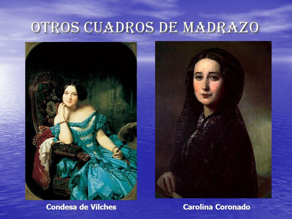 Otros cuadros de Madrazo Condesa de VilchesCarolina Coronado