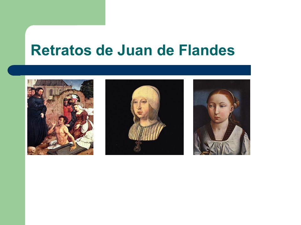 Perspectiva, luz.Juan de Flandes casi consigue la perspectiva en esta obra.