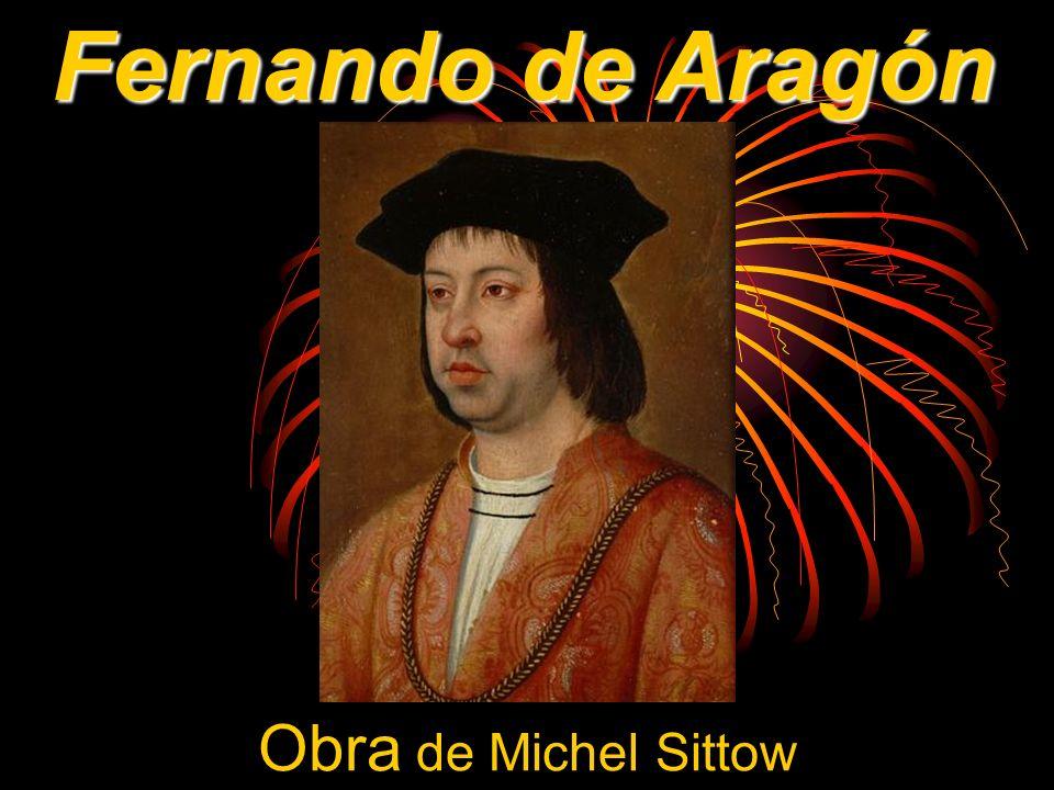 Obra de Michel Sittow Fernando de Aragón