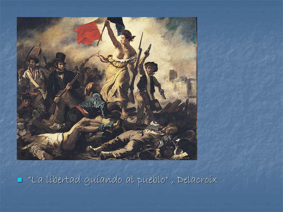La libertad guiando al pueblo , Delacroix La libertad guiando al pueblo , Delacroix
