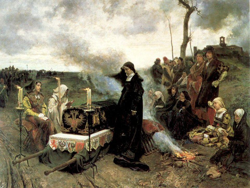 Características de la obra -Doña Juana la Loca -Francisco de Pradilla, año 1877.