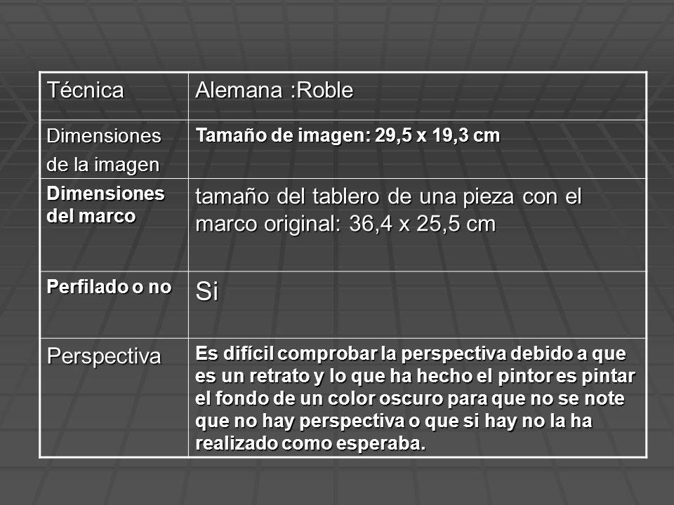Técnica Alemana :Roble Dimensiones de la imagen Tamaño de imagen: 29,5 x 19,3 cm Dimensiones del marco tamaño del tablero de una pieza con el marco or